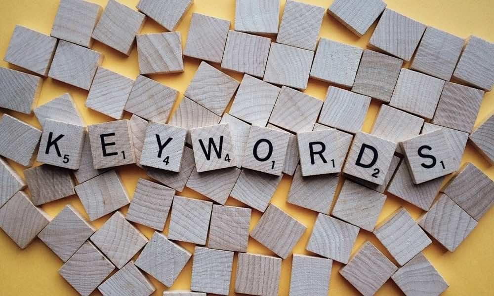 Qu'est ce qu'un mot clé ?